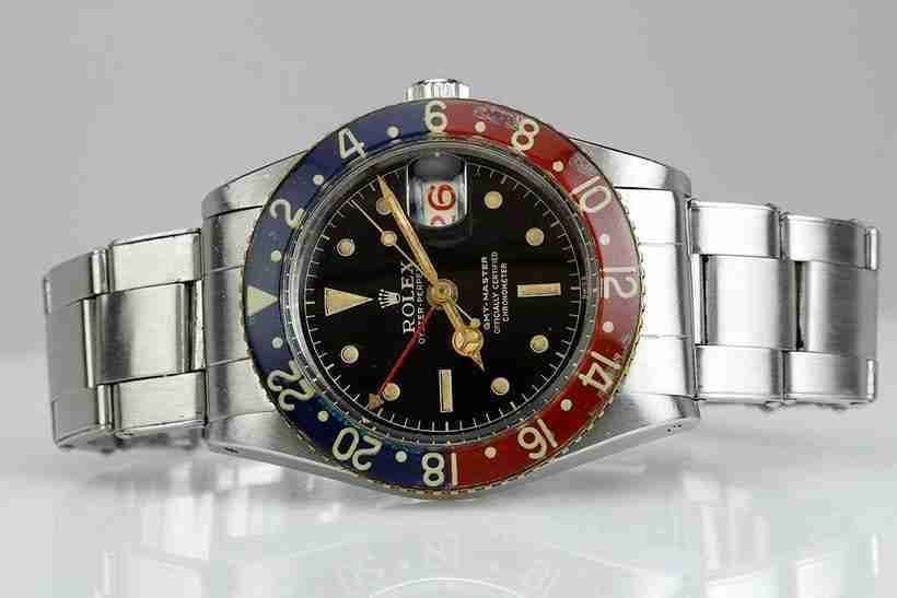 Beste Schweizer Replica Uhren Rolex Oyster Perpetual GMT-Master Bakelit Lünette ref. 6542 für Dankeschön